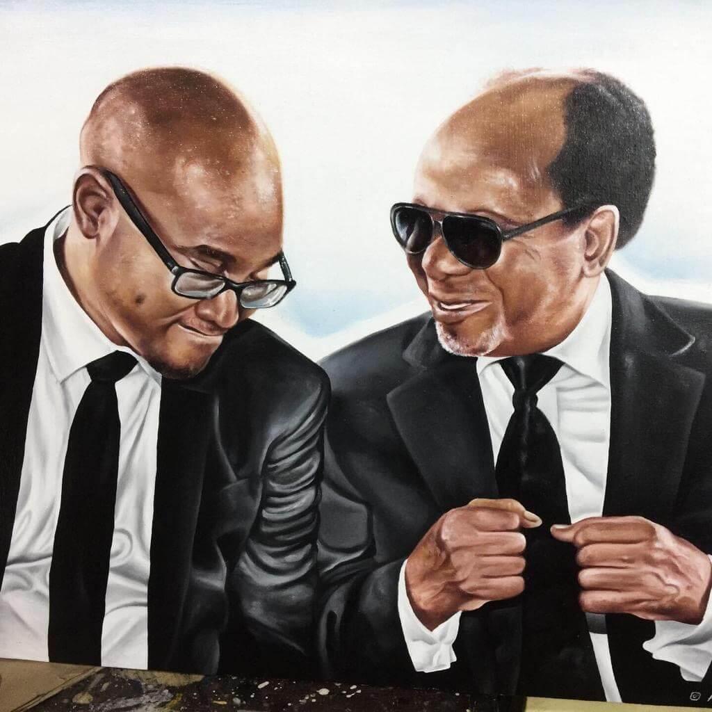 Ölporträt von Ochu