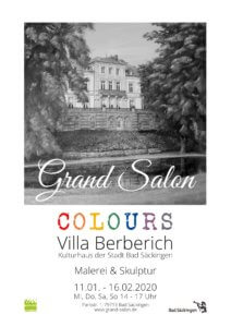 Plakat Grand Salon 2020 Colours