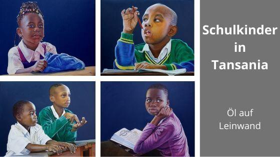 Titelbild Schulkinder in Tansania